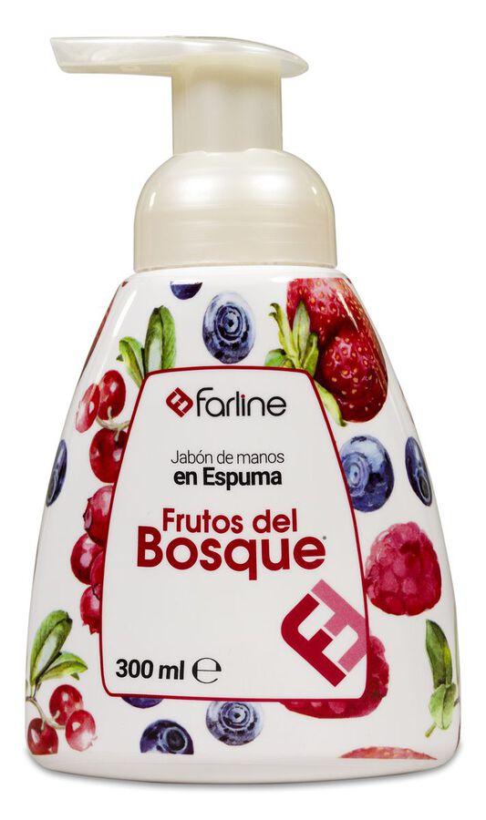 Farline Jabón de Manos en Espuma Frutos del Bosque, 300 ml