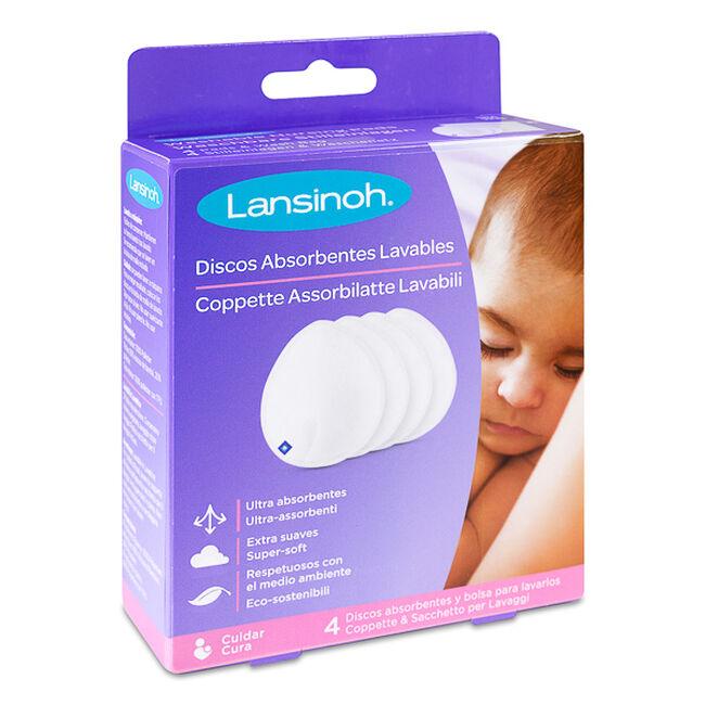 Lansinoh Discos de Lactancia Lavables