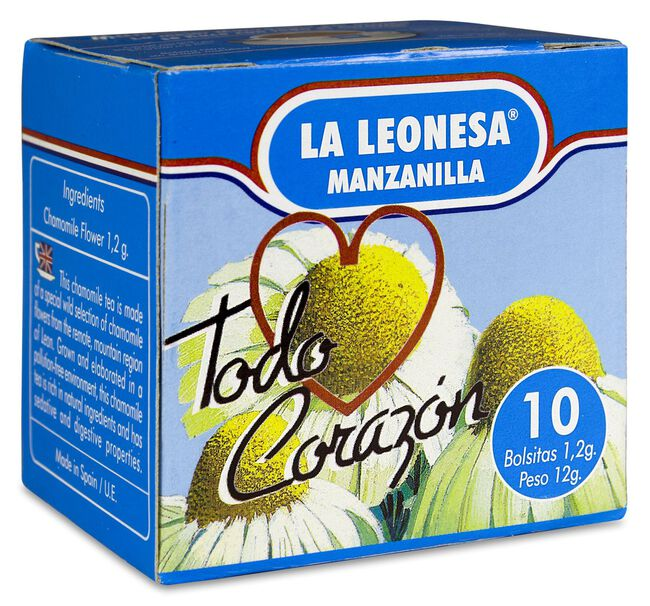 La Leonesa Manzanilla Dulce, 10 Bolsas