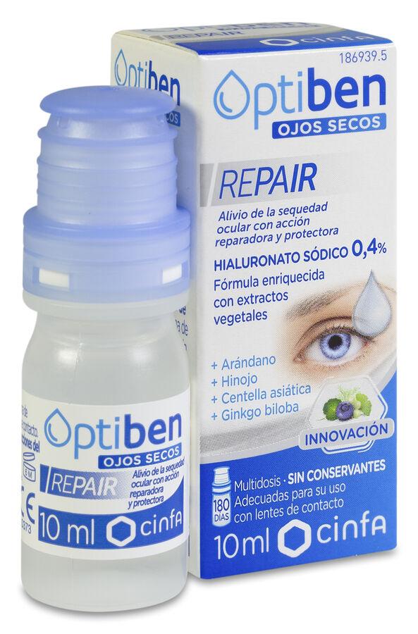Optiben Ojos Secos Repair Multidosis, 10 ml
