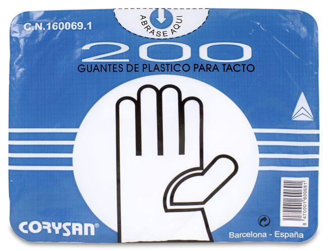 Corysan Guante Tacto Normal, 200 Uds