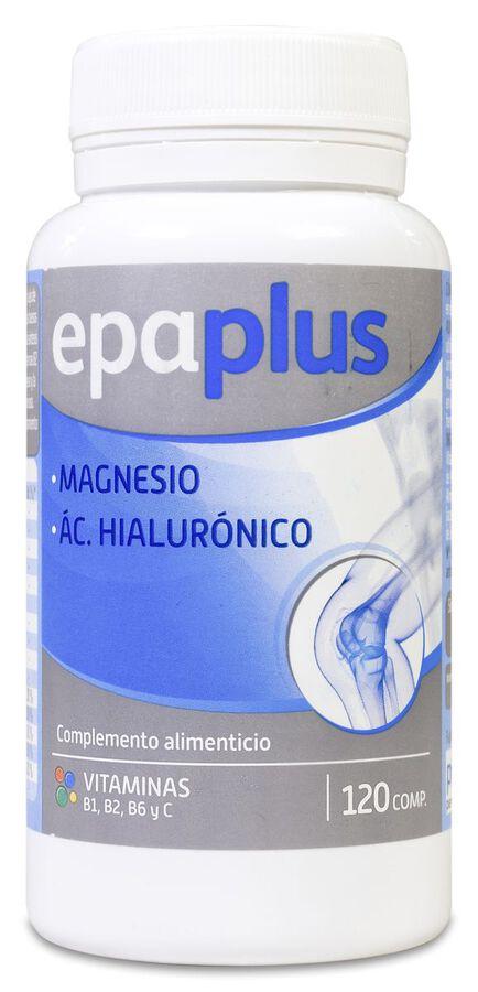 Epaplus Magnesio + Ácido Hialurónico, 120 Comprimidos