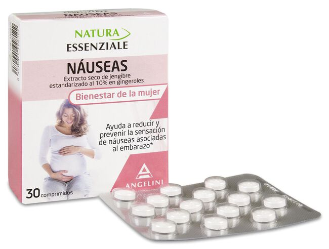 Natura Náuseas, 30 Comprimidos