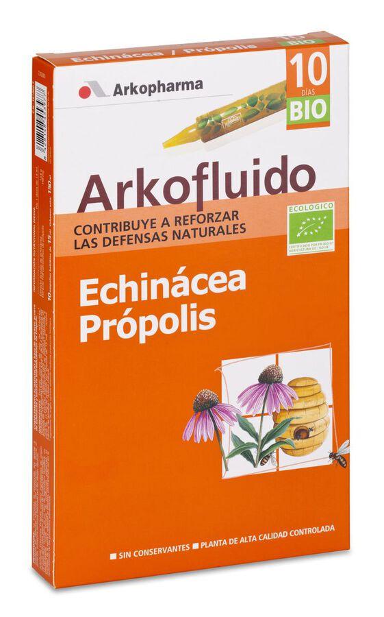 Arkopharma Arkofluido Echinácea + Própolis, 10 Ampollas