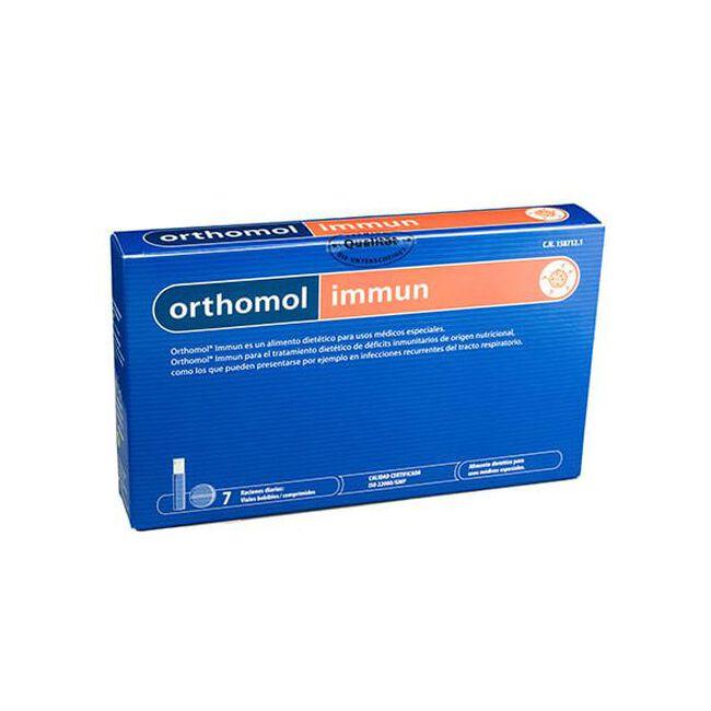Orthomol Immun Viales Bebibles, 7 Uds