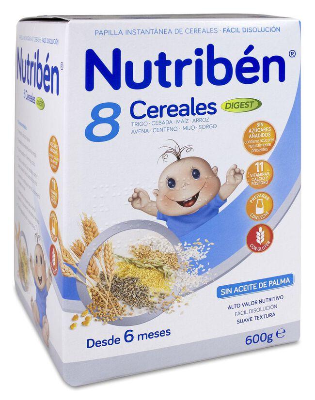 Nutribén 8 Cereales Digest, 600 g