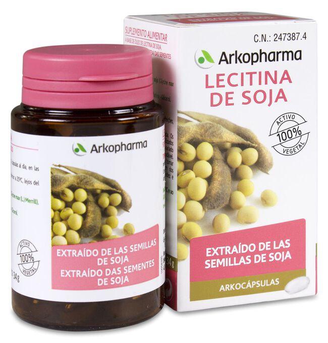 Arkopharma Arkocápsulas Lecitina de Soja, 50 Cápsulas
