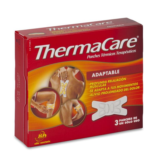 Thermacare Adaptable, 3 Uds