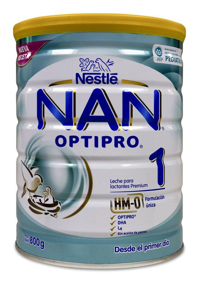 NAN Optipro 1 Leche en Polvo, 800 g