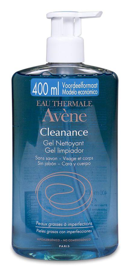 Avène Cleanance Gel Limpiador, 400 ml