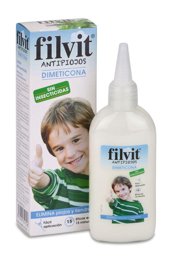 Filvit Antipiojos Dimeticona, 125 ml