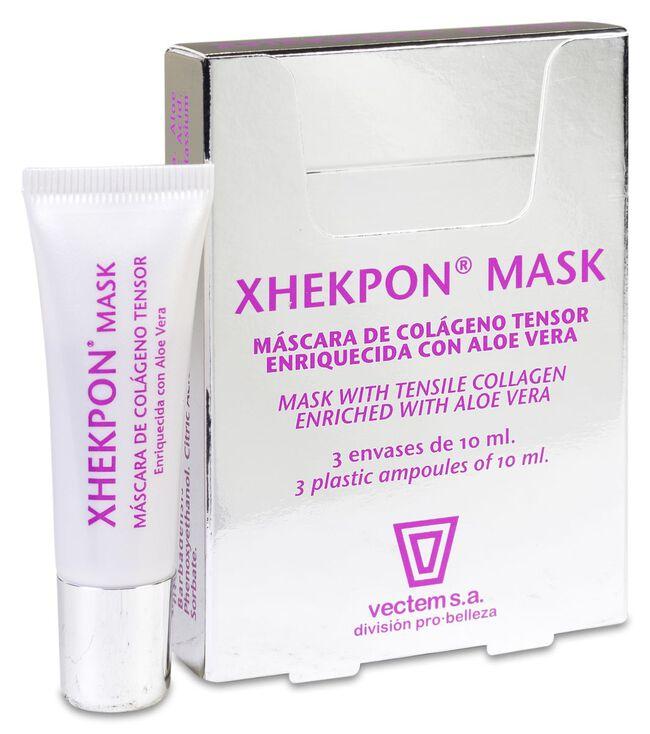 Xhekpon Mask Mascarillas de Colágeno, 3 Uds