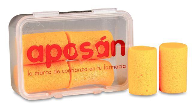 Aposán Tapones Espuma, 4 Uds