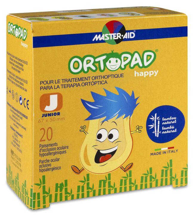 Ortopad Parches Happy Junior, 20 Uds