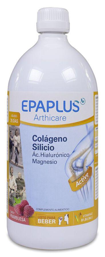 Epaplus Arthicare Colágeno + Silicio Sabor Frambuesa, 1 L