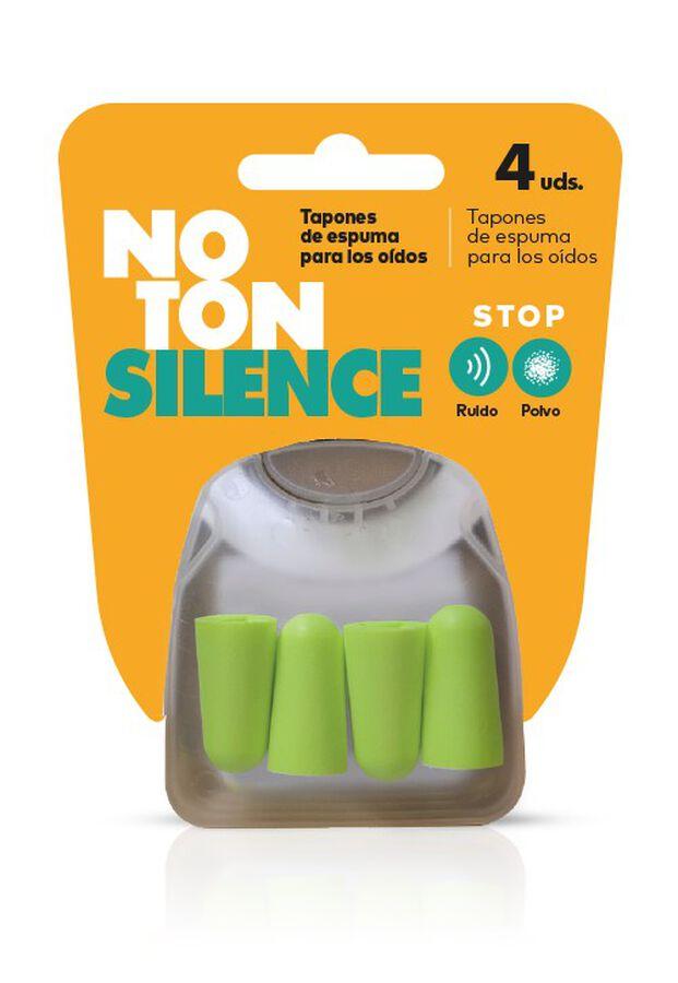 Noton Silence Tapones de Espuma para Oídos, 4 Uds