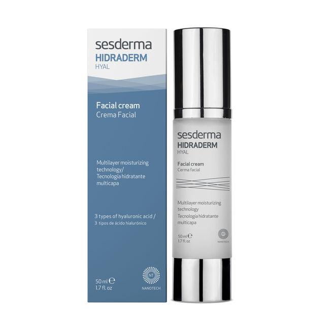 Sesderma Hidraderm Hyal Crema Hidratante Facial, 50 ml