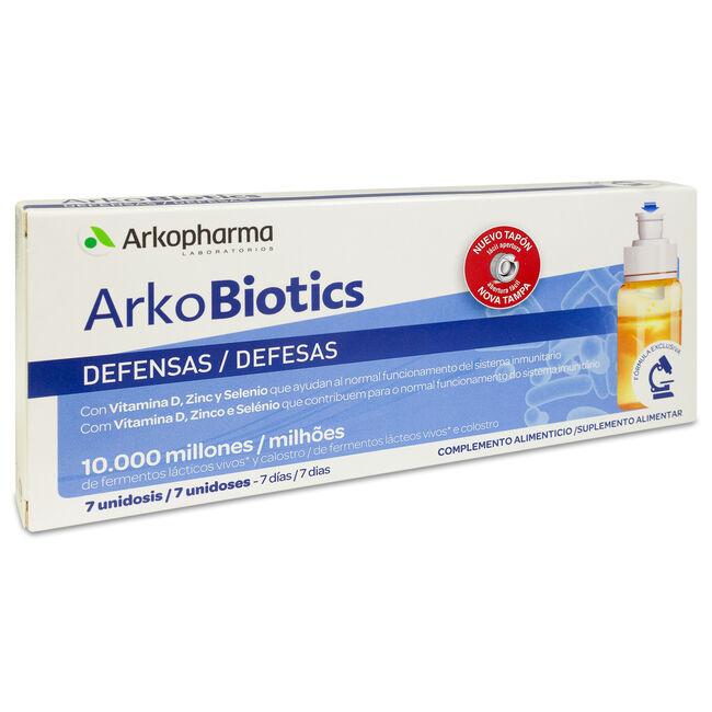 Arkopharma Arkobiotics Defensas Adultos, 7 Uds image number null