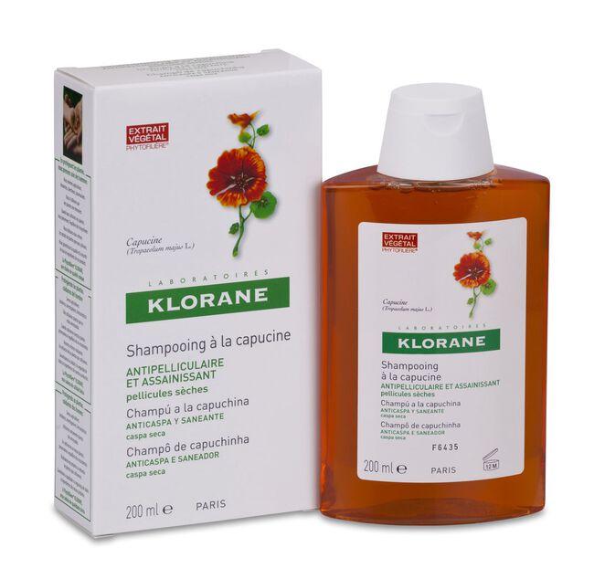 Klorane Champú a la Capuchina, 200 ml