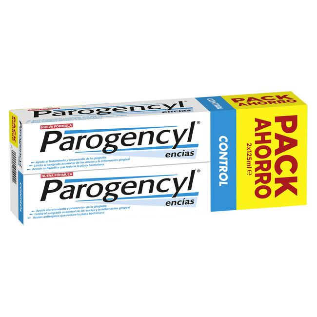 Duplo Parogencyl Control Pasta Dental, 2 Unidades