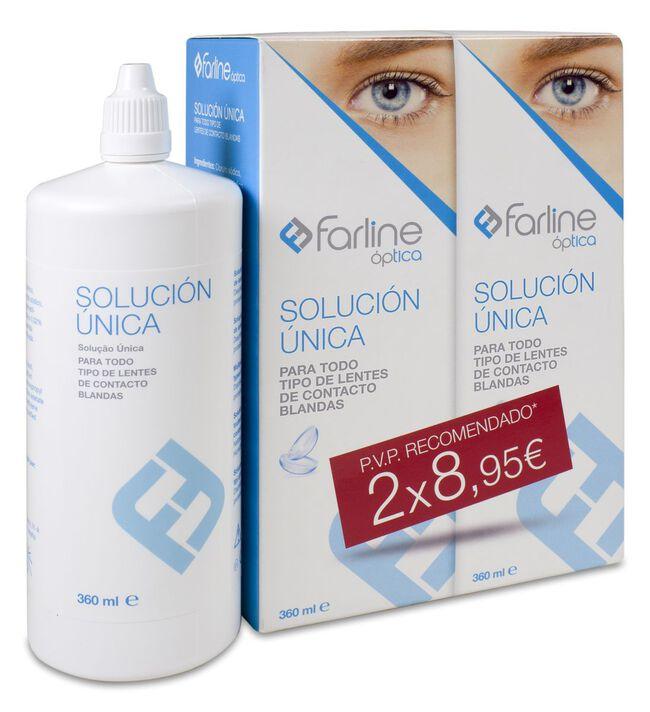 Duplo Farline Solución Única, 360 ml, 2 Unidades