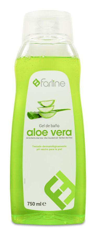 Farline Gel de Baño de Aloe Vera, 750 ml