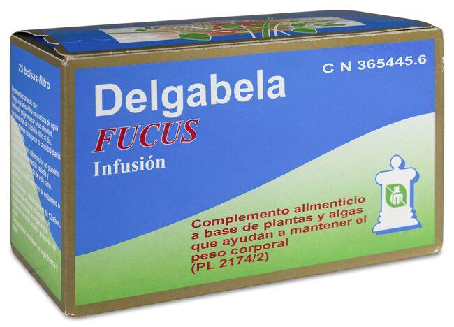 Delgabela Fucus Infusión Adelgazante, 25 Uds