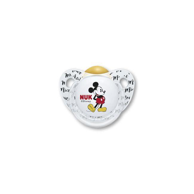 Nuk Trendiline Mickey Mouse Chupete Látex 0-6 M, 1 Ud