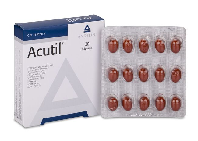 Acutil, 30 Cápsulas