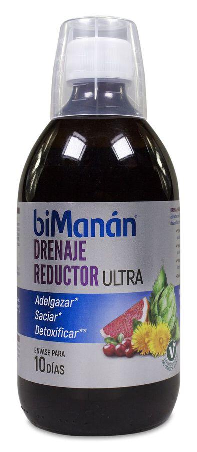 biManán Drenaje Reductor Ultra, 500 ml