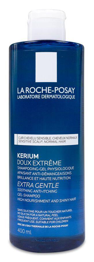 La Roche-Posay Kerium Champú Uso Frecuente Suavidad Extrema, 400 ml