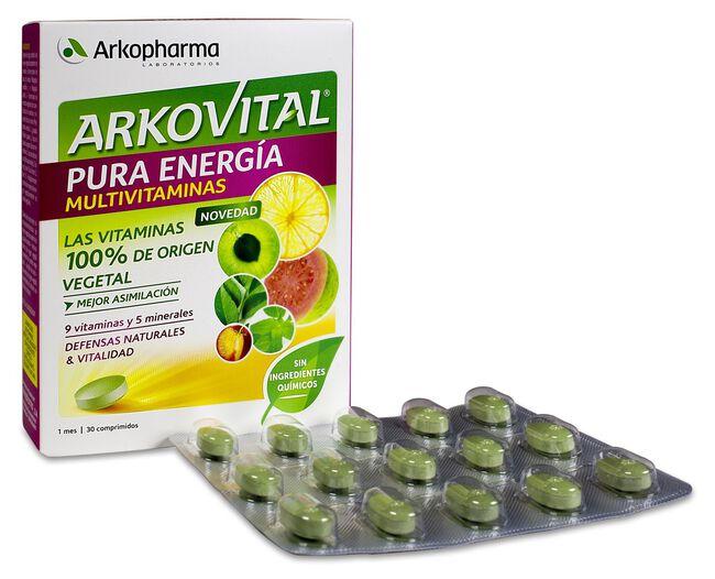 Arkopharma Arkovital Pura Energía, 30 Comprimidos