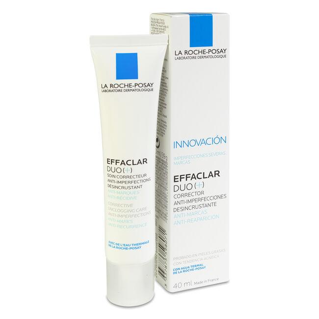 La Roche-Posay Effaclar Duo Tratamiento Corrector Desincrustante, 40 ml