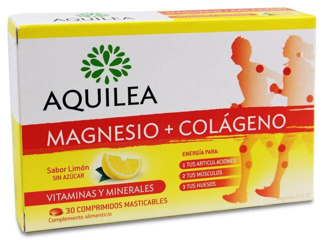 Aquilea Magnesio + Colágeno, 30 Comprimidos