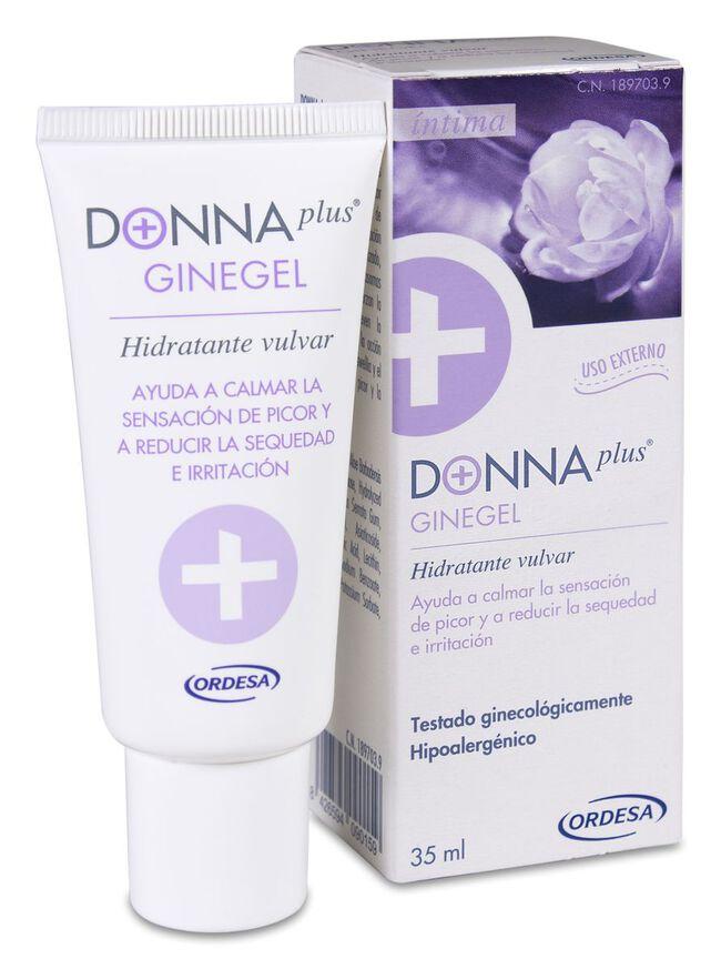 DonnaPlus+ Ginegel Gel Hidratante Vulvar, 35 ml
