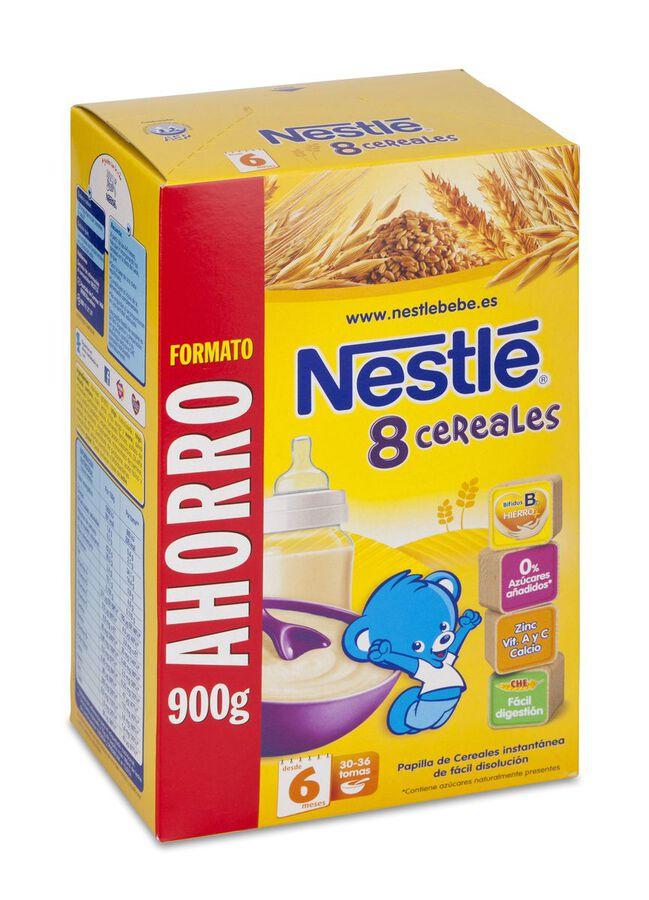Nestlé Papilla 8 Cereales, 900 g