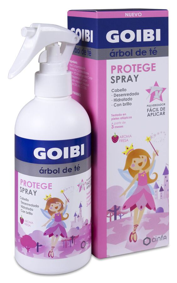 Goibi Árbol de Té Spray Protege Aroma Fresa, 250 ml image number null