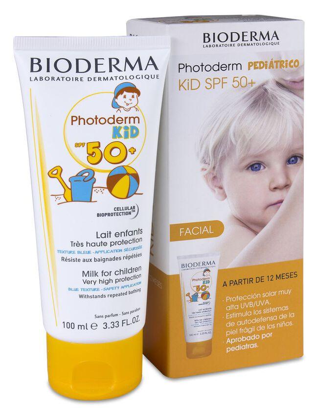 Bioderma Photoderm Kid Leche Facial SPF 50+, 100 ml