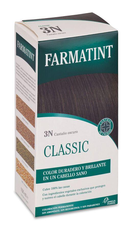 Farmatint Tinte Capilar 3N Castaño Oscuro, 1 Ud