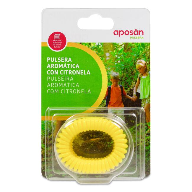 Aposán Pulsera Aromática con Citronella Amarilla, 3 Uds
