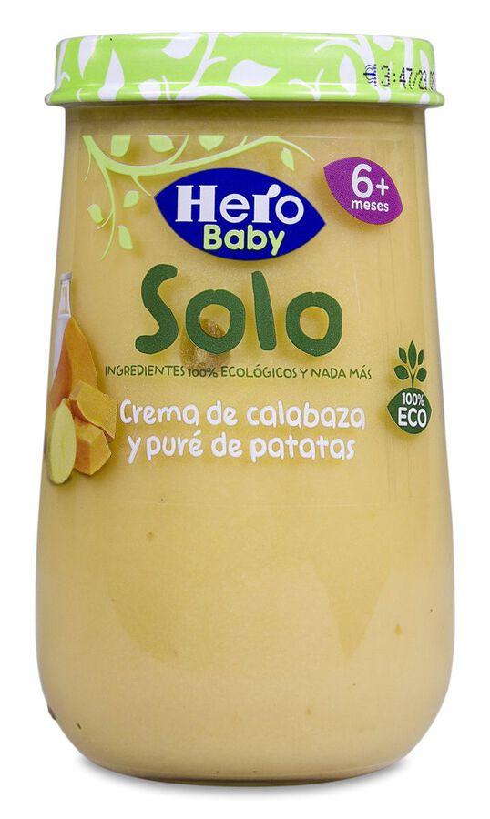 Hero Baby Solo Crema de Calabaza y Patata, 190 g