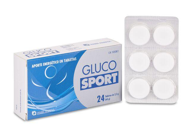 GlucoSport 2,5 g, 25 Uds