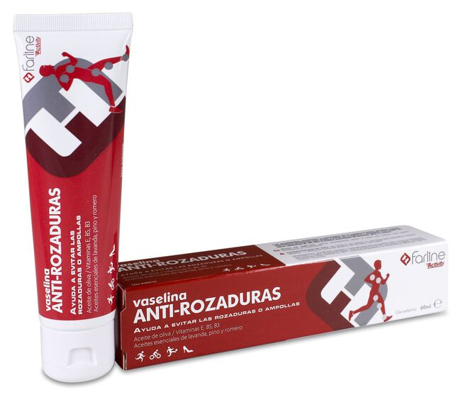 Farline Vaselina Anti-rozaduras, 60 ml