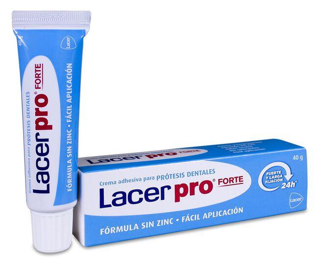 Lacer Pro Fijación Extrafuerte Adhesivo Prótesis, 40 g