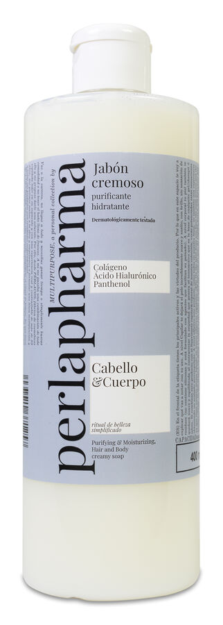 Perlapharma Jabón Líquido Multipurpose, 400 ml