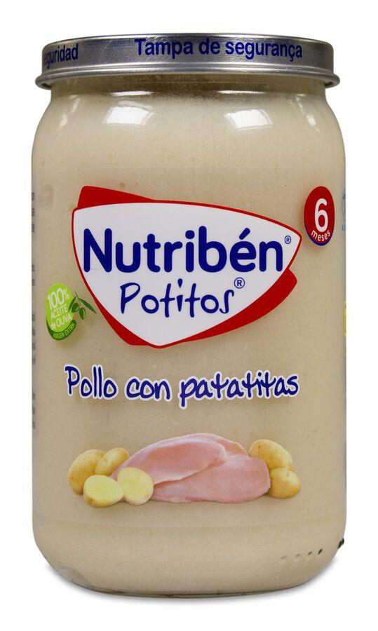 Nutribén Potitos Pollo Con Patatitas, 235 g