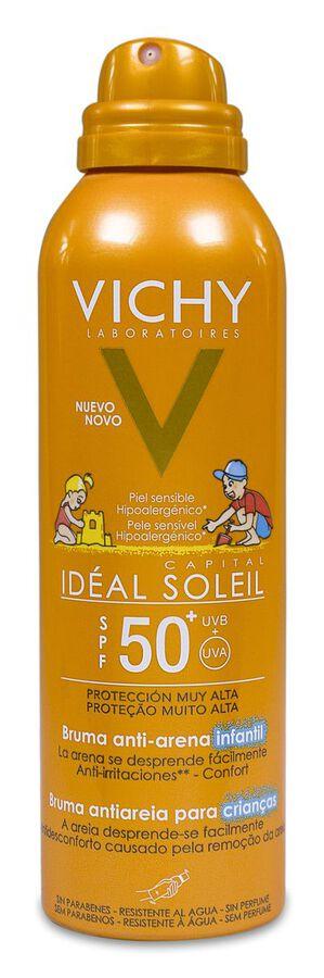Vichy Idéal Soleil Bruma Solar Anti-arena Niños SPF 50+, 200 ml