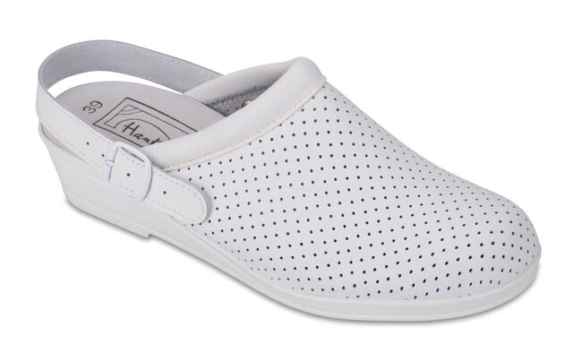 Zueco Hankshoes Confort Blanco Talla 38, 1 Par