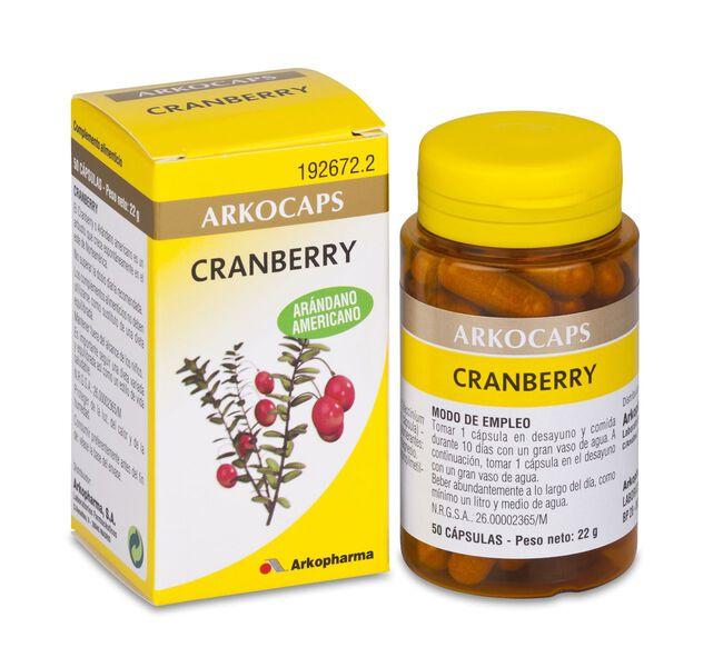 Arkopharma Arkocápsulas Cranberry, 45 Cápsulas
