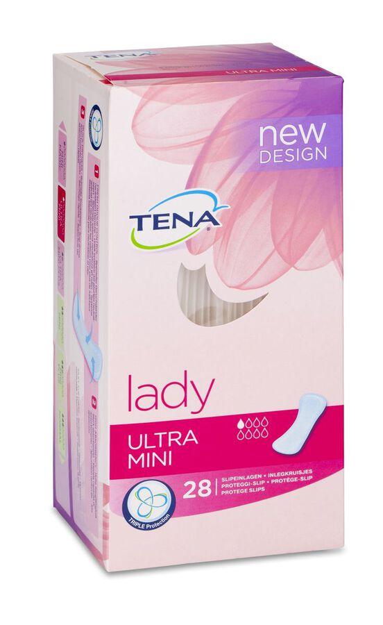 Tena Lady Compresas Ultra Mini, 28 Uds